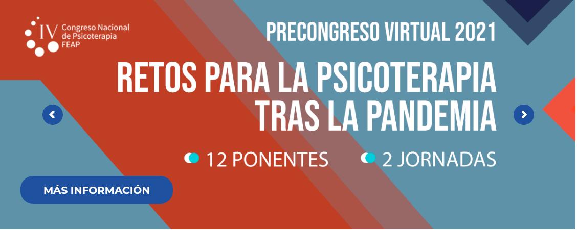 Programa informativo PreCongreso 2021 FEAP